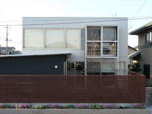ひたちなかの建築家住宅 A-house 北側」